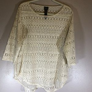 Chico Traveler's Collection Size 3 Sweater